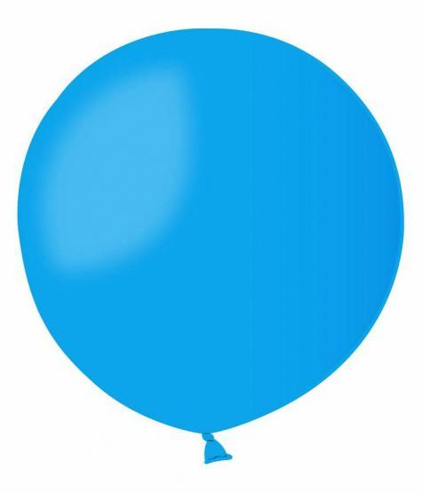 1 Ballon blau
