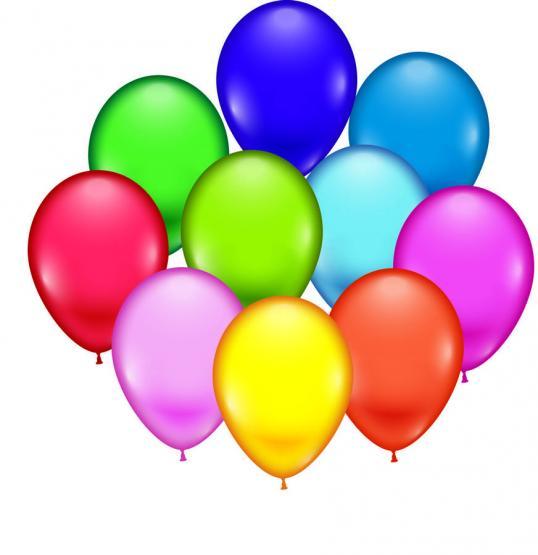 100 Ballons sortiert  11 inch