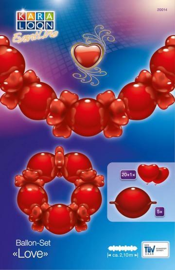 1 Balloon Set Love