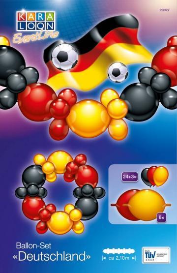 1 Ballon-Set Deutschland - Sonderpreis