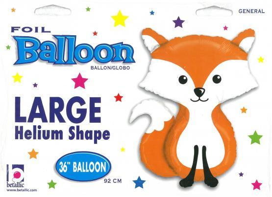 1 Folienballon Fuchs