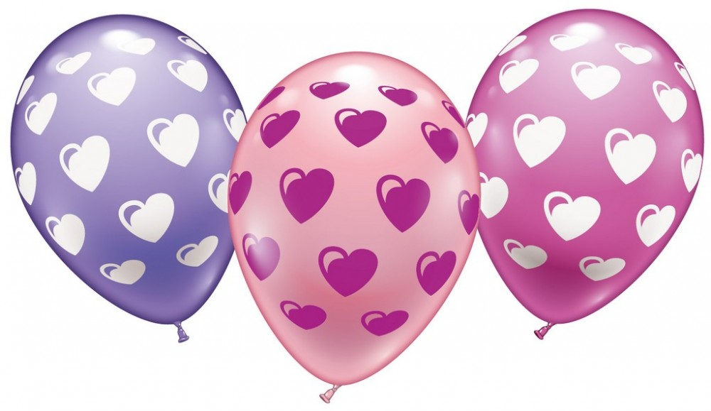 6 Ballons Sweethearts