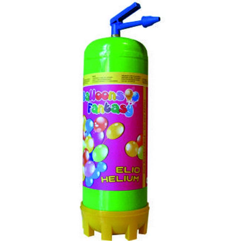 1 Einweg-Heliumflasche mittel (0,22 cbm helium)